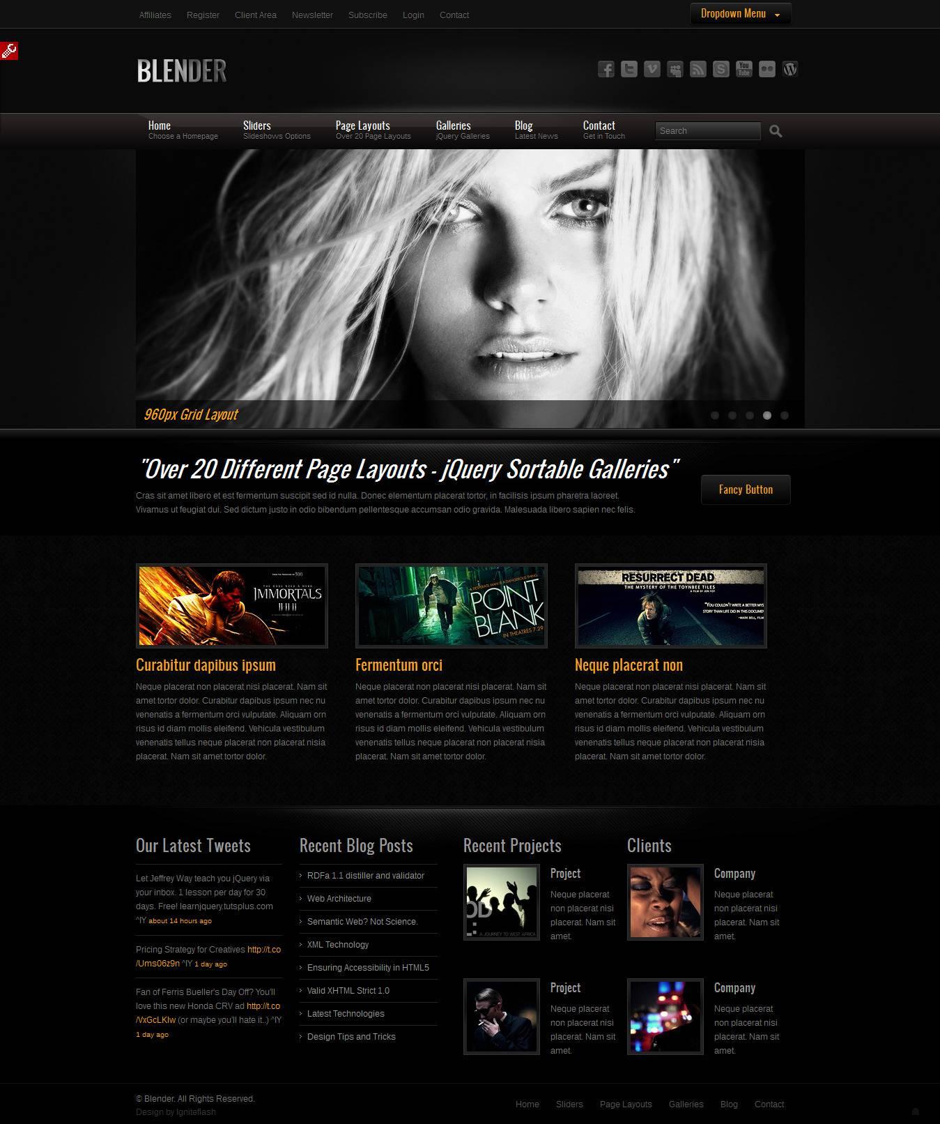 Web agency seo ecommerce siti web reggio for Design sito